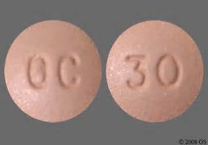 Oxycontin Oral Tablet, Extended Release 30Mg Drug Medication Dosage ... Oxycodone