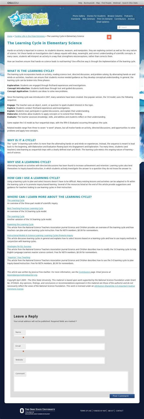 learning cycle lesson plan template 17 best images about classroom lesson plans on lesson plan templates teaching and