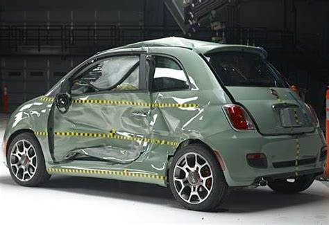 si鑒e auto crash test fiat 500 risultati insoddisfacenti nei crash test usa sicurauto it