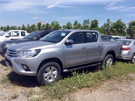 2018 Toyota Hilux Fully Uncovered Ahead Of Thursdays