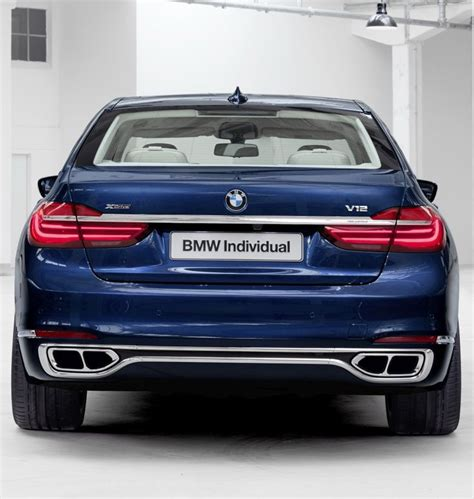 BMW 760Li V12 Individual G12 | BMW 4EVER!!!! | Pinterest ...