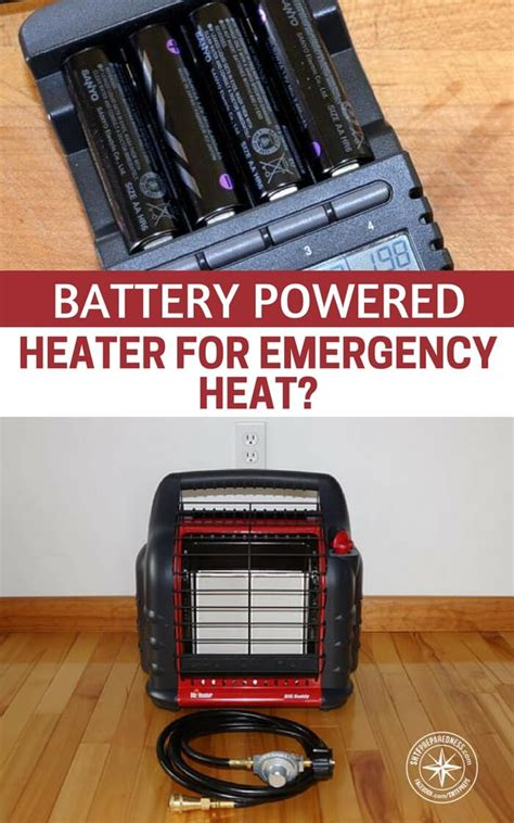 battery operated heat l battery powered heater for emergency heat probably not