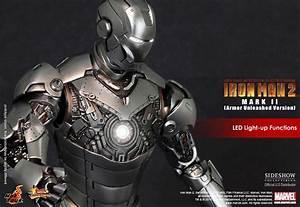 Hot Toys Iron Man Mark II Collectible Figure Armor ...