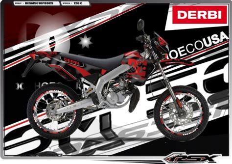 kit dco dc shoe rsx design derbi senda carnage noir