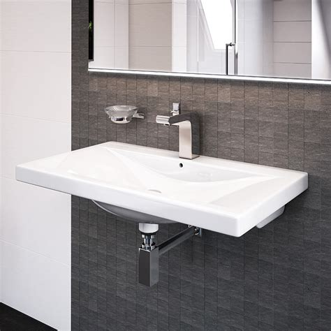 auckland mm wall mounted basin