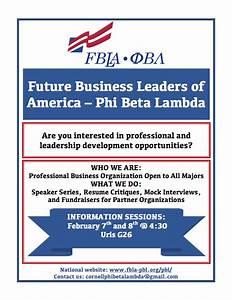 FBLA - Phi Beta Lambda, Cornell University - Home   Facebook
