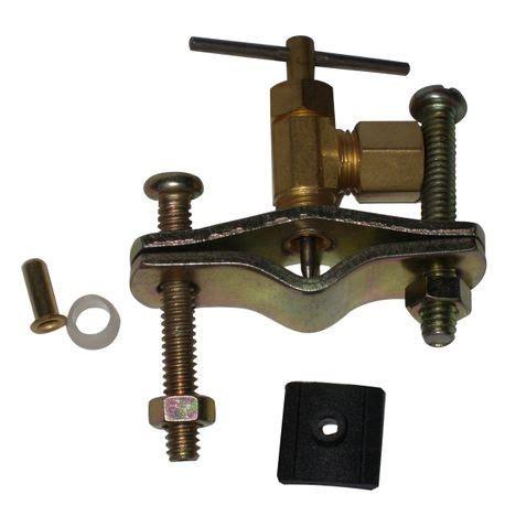 saddle valve pierce type
