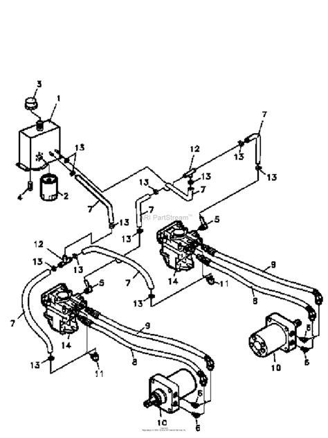 Bobcat 763 Hydraulic Line Diagram by Bunton Bobcat 942200 All Zt200 Power Unit 20 Hp