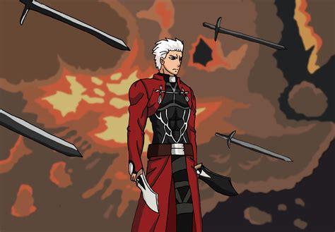 reddit anime fate series watch order fate stay night ubw archer by juggernaut art on deviantart