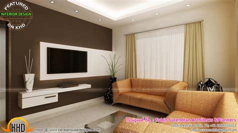 Living Rooms, Modern Kitchen Interiors In Kerala  Kerala