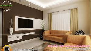 Living rooms modern kitchen interiors in kerala kerala for Interior design for living room in kerala
