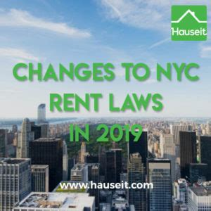 The Housing Stability And Tenant Protection Act Of 2019 A by Nyc Rent Laws In 2019 What S Changed For Renters And