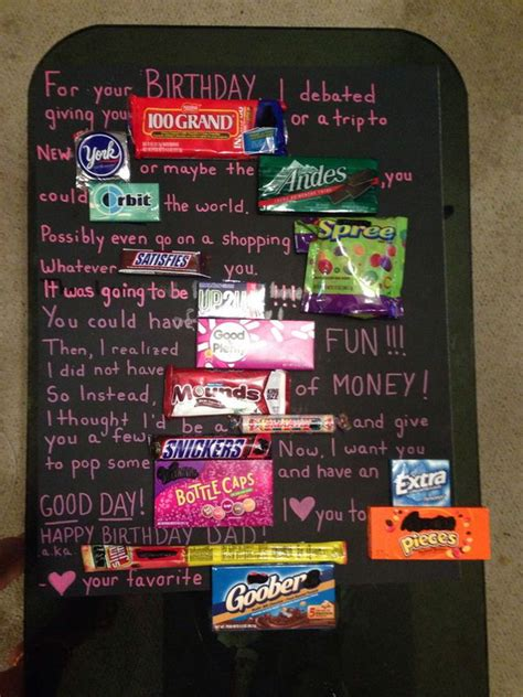 candy bar poster ideas  clever sayings hative