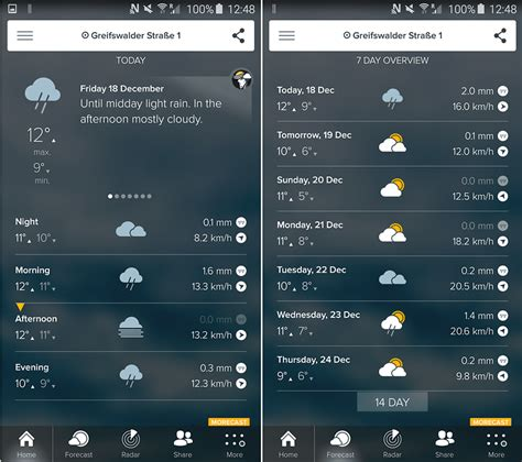 most accurate weather app for android morecast weather app the most accurate forecasts in the