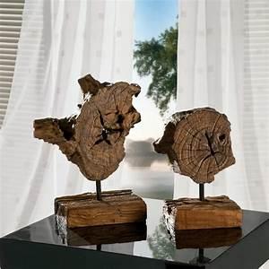 Dekorationen Aus Holz : deko teakholz auf st nder altholz unikat von henke g nstig bestellen bei skanm bler ~ Yasmunasinghe.com Haus und Dekorationen
