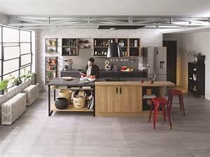 Interieur Style Industriel : tous nos quipements de style industriel cuisinella ~ Melissatoandfro.com Idées de Décoration
