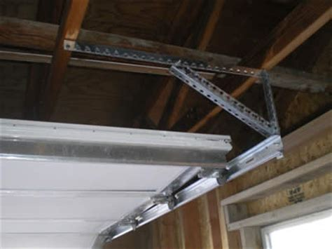 garage door tracks garage door track maintenance how to maintain and repair