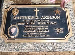Matthew Axelson | Matthew Gene Axelson (1976 - 2005 ...