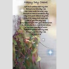 Happy Day Chant  Food Ideas  Witchcraft, Wiccan, Wiccan Chants