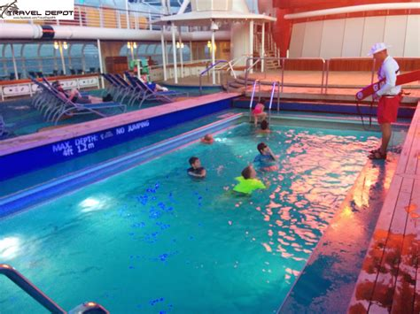 pool areas aboard the disney magic cruise ship travel depot
