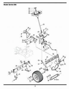 Mtd Lawn Tractor Parts Diagram