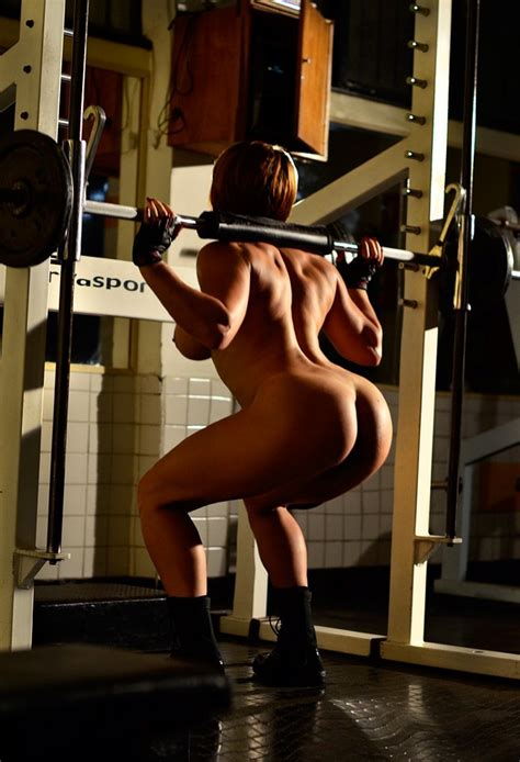 Hot Fitness Babe Diana Sexy Gym Workout Pichunter