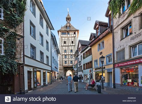 Shopping Center Baden Baden by Town Konstanz Baden Wuerttemberg Stock Photo