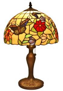 tiffany style butterflies table lamp 19 inches 99488v2