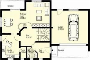 Haus Grundriss Ideen Einfamilienhaus : fein einfamilienhaus grundriss ideen hausbau grundrisse ~ Lizthompson.info Haus und Dekorationen