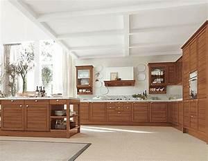 Fotos de cocinas de madera modernas for Cocinas en madera modernas