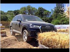 NEW AUDI Q7 2015 OFF ROAD TEST COSTA SMERALDA ONLY SOUND
