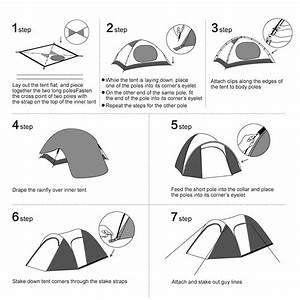 Enkeeo Waterproof Backpacking 4 Person Tent Review