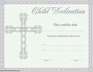 christian dedication certificate template templates With baby christening certificate template