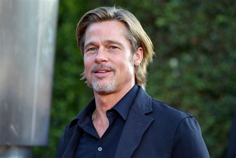 (photo by michael putland/getty images). Brad Pitt Recalls Guest Starring On 'Friends' Nearly 18 Years Ago: 'I Flubbed My First Line ...