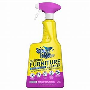 spray and forget 24 oz outdoor furniture cleaner sfofc 1q With furniture cleaner home depot