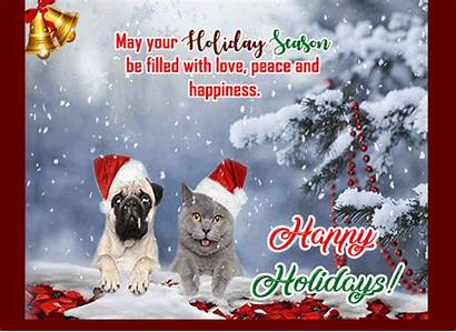 Holidays Happy Peaceful Card Ecards 123greetings Holiday