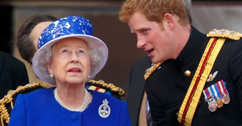 First thing Harry did after crisis talks with Queen ...