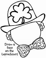 Coloring Leprechaun Pages Crayola Complete Printable Preschool Face St Patrick Printables Colouring Leprachaun Draw Sheet Patty Worksheets Craft Faces Patricks sketch template