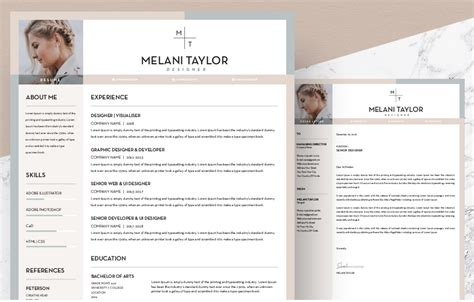 Where To Get Free Resume Templates by Free Creative Resume Template Downloads For 2019