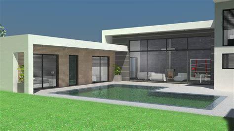 moderne ville de maison de ville moderne toit plat