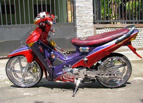 Modifikasi Supra X 125 Sederhana by Modifikasi Terbaru Honda Supra X 125 Simpel Sederhana