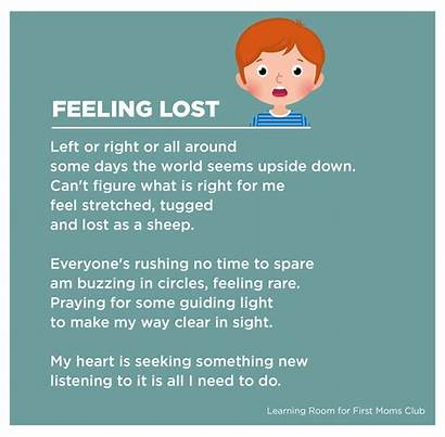 Poem Emotions Deal Child Way Firstmomsclub