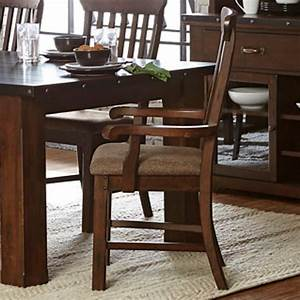 Homelegance Schleiger Industrial Dining Arm Chair With