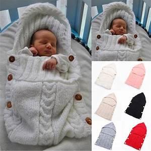 Schlafsäcke Winter Baby : baby swaddle wrap warm wool crochet knitted newborn infant ~ Jslefanu.com Haus und Dekorationen