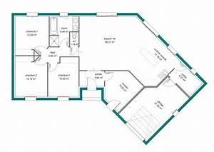 plan maison neuve plain pied ventana blog With ordinary plan de maison 100m2 13 habitats modulaires
