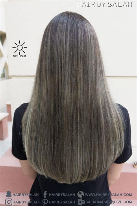 ashy brown hair color ash brown hair color ash balayage hair by salah
