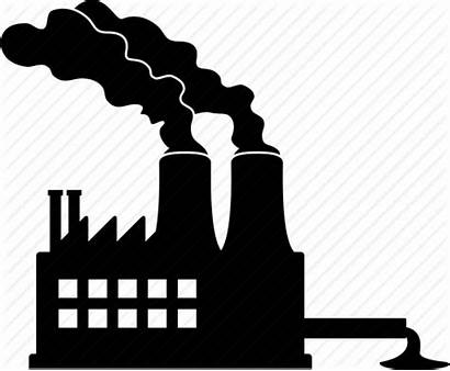 Pollution Icon Clipart Factory Symbol Transparent Icons