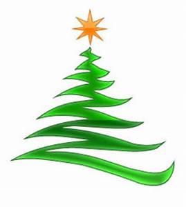 Modern Christmas Tree Clip Art ClipArt Best