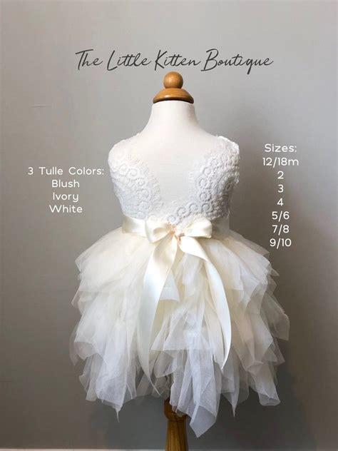 blush pink tulle flower girl dress white lace flower girl
