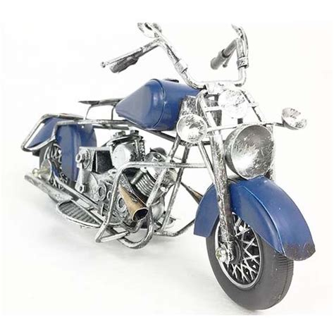 Gifts For Motorcycle Enthusiast by Mettle Handicrafted Iron Motorcycle Motor Model Most